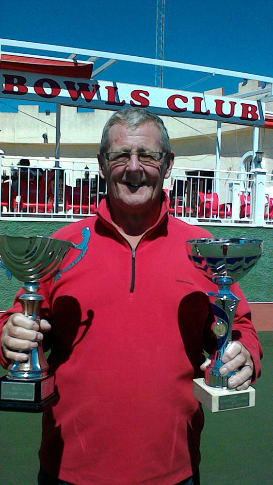 San Miguel Pulsars won this seasons Hurricane League, and Team Captain Ken Hope, proudly received the trophy.