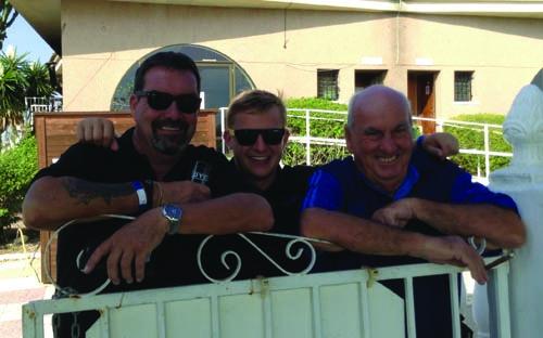 The Greengauge team Allan, Sam and Jackie