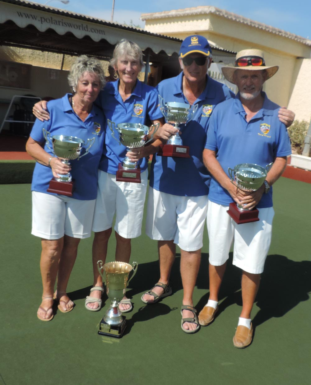 Competition winners Quesada Bowls Club