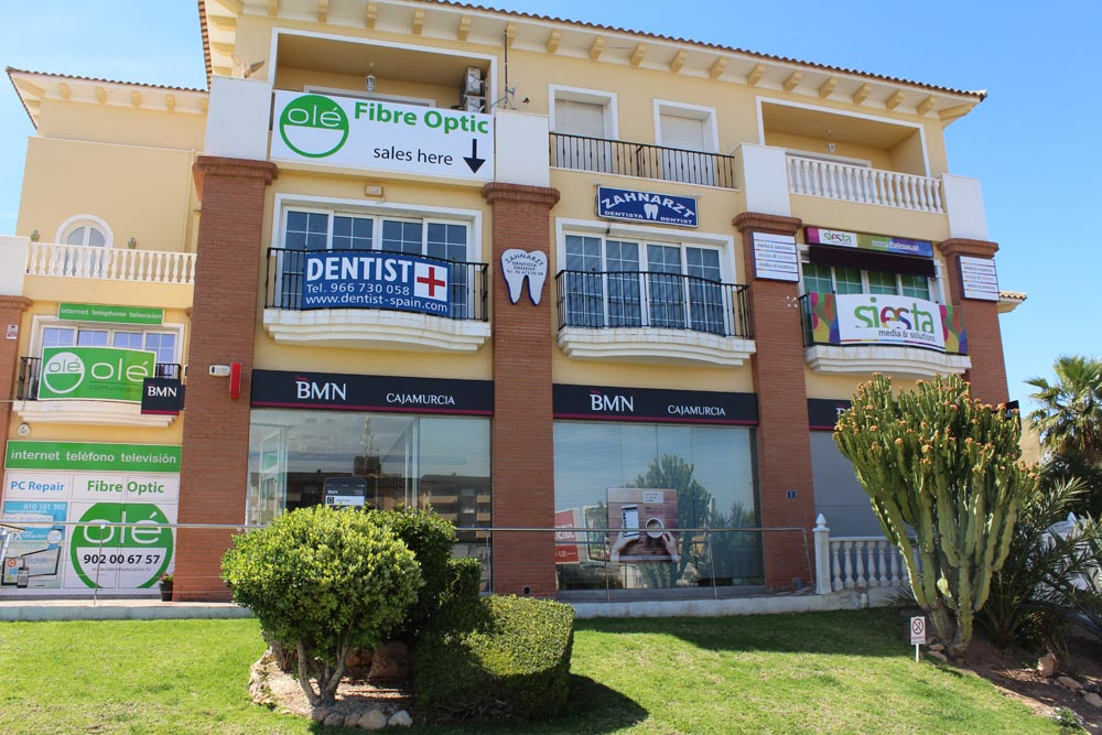 The La Zenia offices