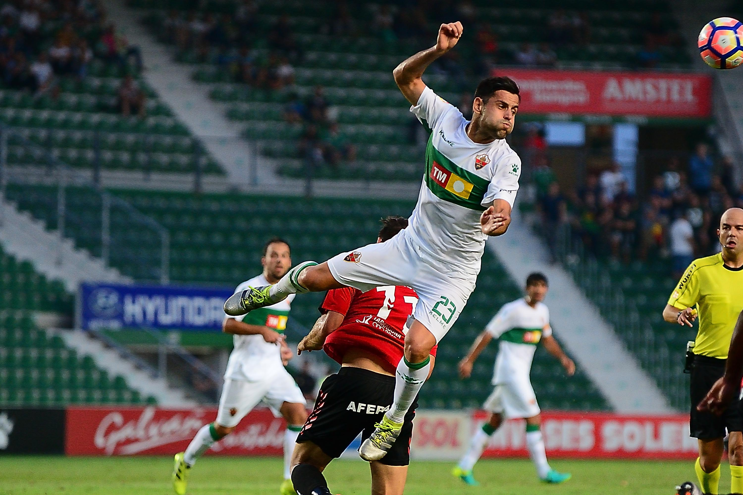 Albert Dorca scored the Elche fourth as they came from behind to scrounge a point