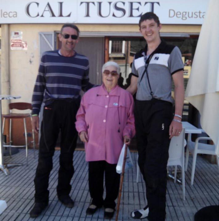 The pair had their ears damaged by the talkative Brigida in Sant Joan les Fonts,