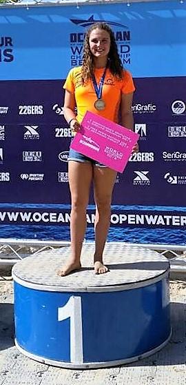 Zoe 1st World Oceanman 5.5km Championships 16-19yrs