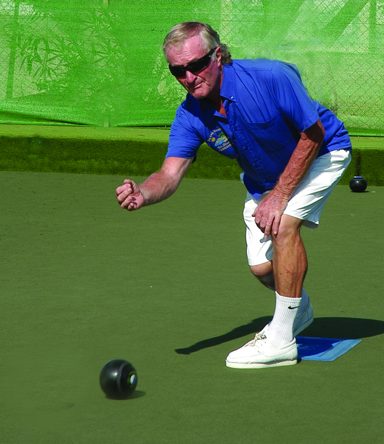 Vic Slater the propetor of San Luis Bowls Club